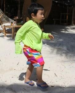 5歳女の子サーフパンツ