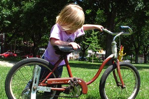 5歳自転車プレゼント
